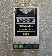 KORG Ram Scr-512    x Korg 01W/01Wfd  Caricati Suoni Korg  01W