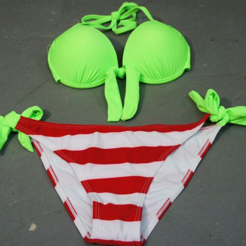 Women/'s Halter Push Up Padded Beach Swimwear Swimsuit Bathing Suit Bikini 2 Pcs