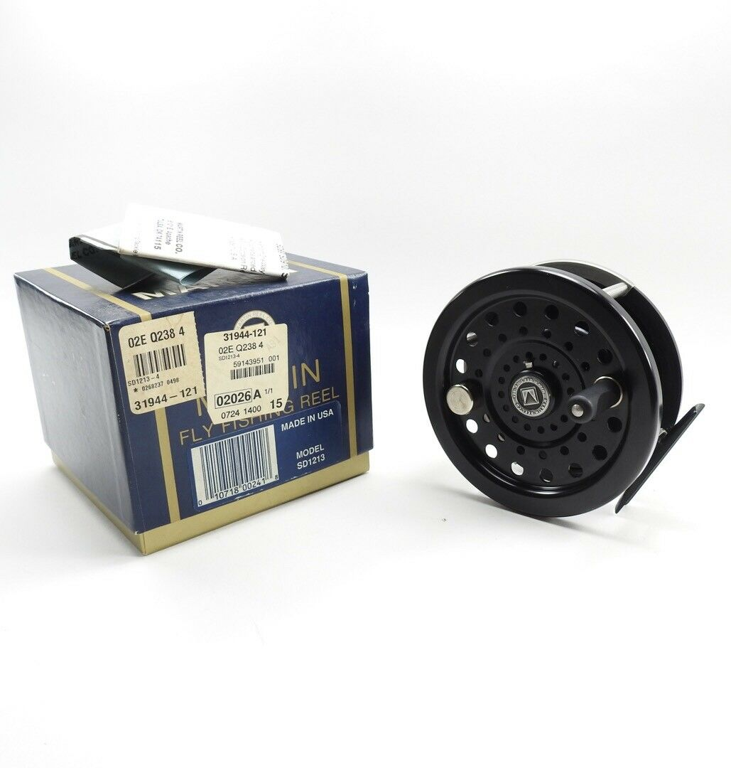 Martin Trophy SD1213 Fly Reel. Fishing Reel. Fly W/ Box and Papers. a43acc