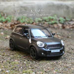 BMW Mini Cooper 5 inch Model Cars 1:36 Collections/&Gifts Alloy Diecast Toy Black