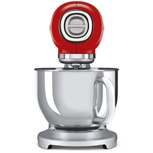 Smeg SMF 02 rduk Rouge Rétro 50 s robot mélangeur 800 W-NEUF-GARANTIE de 2 ans