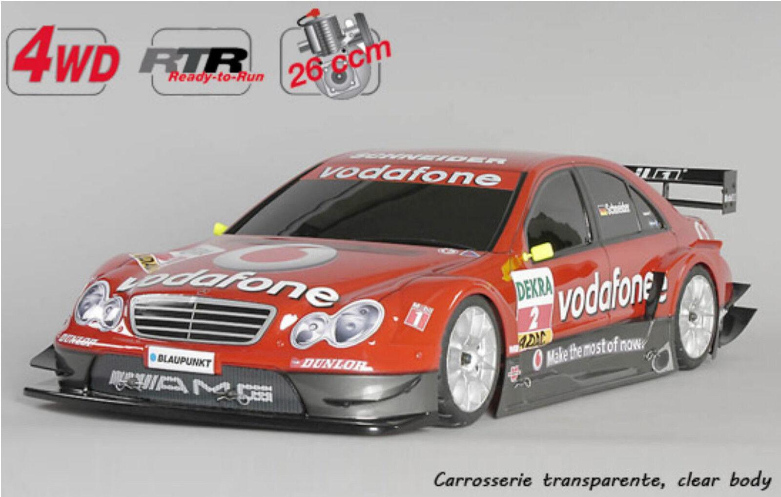 FG modellsport r 4WD 530 Chasis sin lacar MERCEDES BENZ 26 CCM RTR