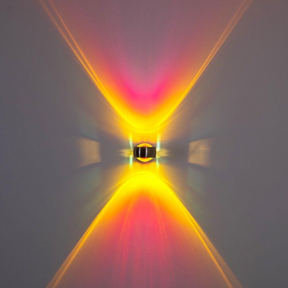 Wandleuchte Flur Lampe Design Wohn Zimmer Leuchte Linse Küchen Strahler magenta | Große Auswahl