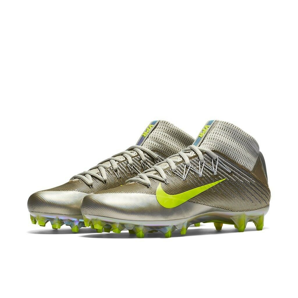NEW Nike Men's Vapor Untouchable 2 Football Spikes Wolf Grey Black SIZE 12.5 Cheap and beautiful fashion