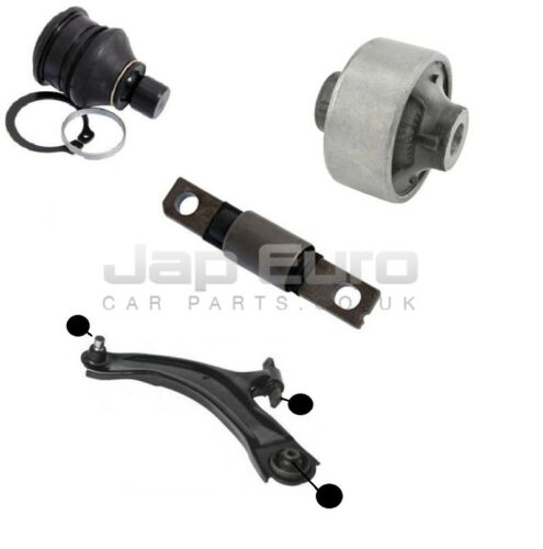 For NISSAN SERENA C26 10/> FRONT LOWER WISHBONE CONTROL ARM BUSHES BALL JOINT KIT