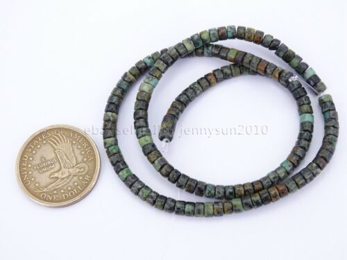 AAA Natural Gemstone Heishi Loose Spacer Beads 2mm x 4mm 15.5/'/' Inches Strand
