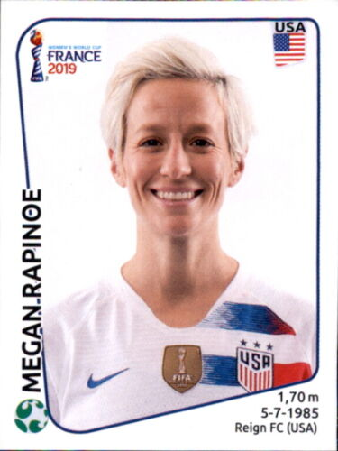 Panini Frauen WM 2019 Sticker 419 Megan Rapinoe USA