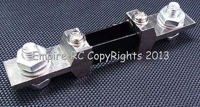 (200A) (75mV) Shunt Resistor FOR DC Current Meter Amp Analog Panel Ammeter
