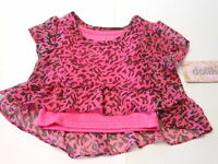 Baby Girls Shirt Toddler Girls Clothes Dressy Top Pink Leopard Shirts 12 Mo
