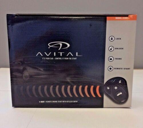 Avital 4105L Avistart Remote Start w Keyless Entry two 4-button controls NEW