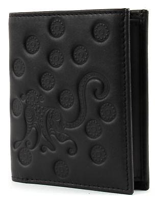 Onesto Oxmox Leather Pocketbörse Ii Portafoglio Monkey Nero Nuovo-mostra Il Titolo Originale