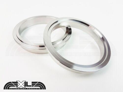 """V-Band Clamp /& Brides Heavy Duty en Acier Inoxydable 3/"""" 2.5/"""" 2.25/"""" exil Motorsport"""