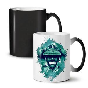 Warrior Solider NEW Colour Changing Tea Coffee Mug 11 oz   Wellcoda