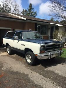 86 ramcharger for sale