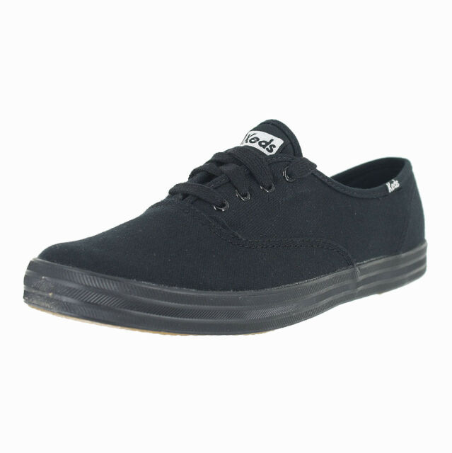a7fd3d4b814 Keds Champion Oxford CVO Womens Size 7 Black Canvas Athletic ...