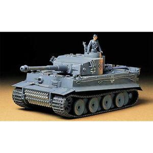 TAMIYA-35216-German-Tiger-I-Early-Production-Tank-1-35-Military-Model-Kit