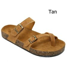 c9d26c630d item 1 New Women A501 Toe Ring Cork Platform Slippers Sandals Slip On Slides  5 to 11 -New Women A501 Toe Ring Cork Platform Slippers Sandals Slip On  Slides ...