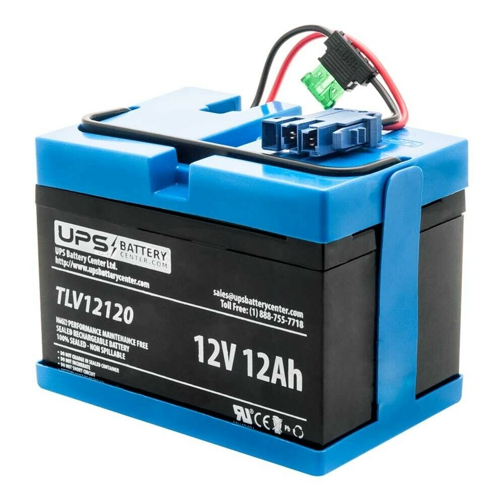 Peg Perego 12V John Deere Turf Tractor Compatible Replacement Battery