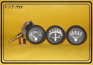 Ford-Tractor-2N-8N-9N-NAA-601-70-801-901-2000-4000-Amp-Oil-Temp-Gauge-Set