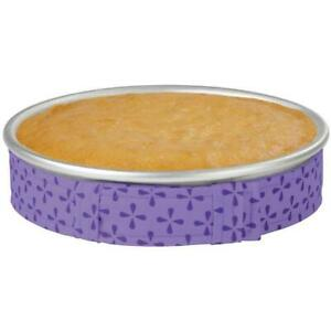 WILTON-BAKE-EVEN-STRIPS-Set-PURPLE-Bake-Moist-Level-Cakes-K2I2-Supply-V9F5