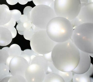 Ballons-Avec-DEL-Blanc-lumiere-interieur-BLANC-Ballons-Vendeur-Britannique