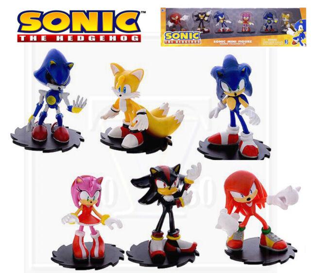 "Sonic the Hedgehog Sonic mini figure /""Modern Collector/'s Set/"" 6 pcs."