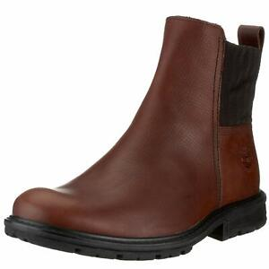 TIMBERLAND OPPLAND MENS CHELSEA BROWN