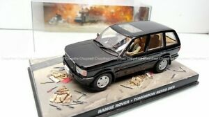 Universal-Hobbies-JAMES-BOND-007-RANGE-ROVER-noir-Tomorrow-never-dies-1-43