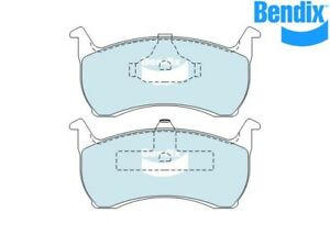 Bendix Brake Pad FT GEN CT For Ford Fairmont 93-94 4.0 XR6 ED 160kw DB1108 GCT