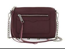 418843ca440a0 item 6 Rebecca Minkoff Avery Crossbody Bag. Saffiano leather. Chain Strap.  Color  Port. -Rebecca Minkoff Avery Crossbody Bag. Saffiano leather. Chain  Strap.