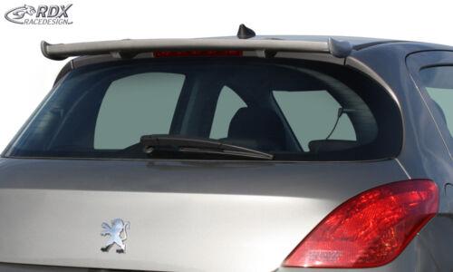 RDX Dachspoiler PEUGEOT 308 Heckspoiler Heck Dach Spoiler Flügel hinten Wing