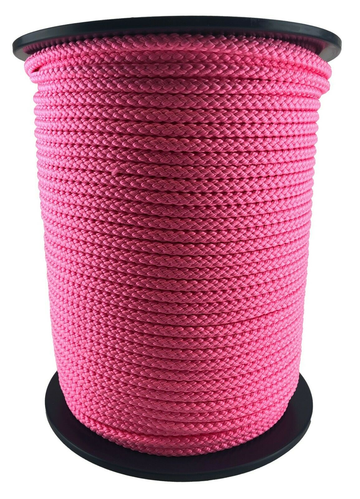 10mm Pink Braided Polypropylene Rope x 50 Metres Poly Line Sailing Boating