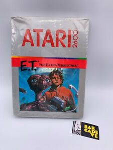 Atari-2600-1982-E-T-The-Extra-Terrestrial-Brand-New-Factory-Sealed-Rare