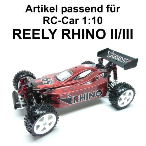Original 1:10 Reely Rhino II III Bras De Suspension Arrière 232789 H