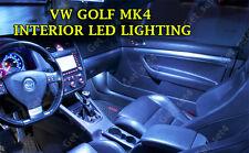 VW GOLF MK4 UPGRADE WHITE LED Interior BULBS FULL 15 PCS Light Kit Set