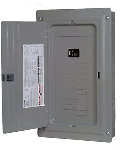 siemens 100 a load center panel amp fuse box 20 space main image is loading siemens 100 a load center panel amp fuse