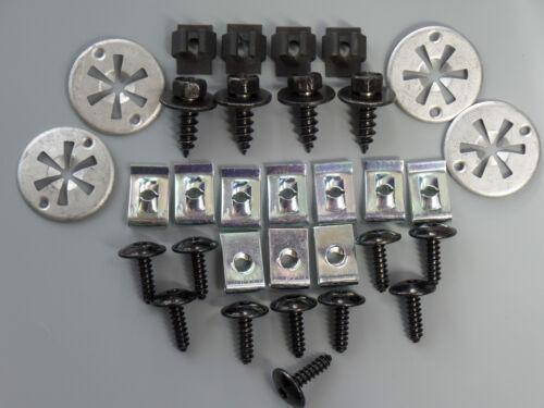Set Protezione sotto Motore Kit di Installazione Clip Audi A3 Seat Leon Toledo