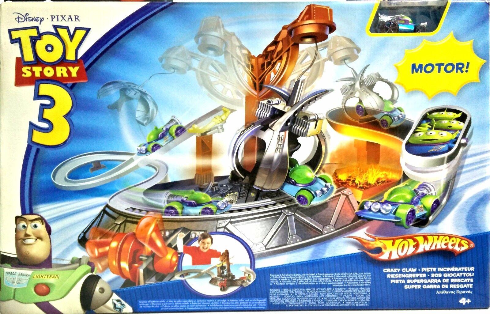 Hot Wheels - - - Pista Supergarra de Rescate Toy Story 3 R2524 - NUEVO 314