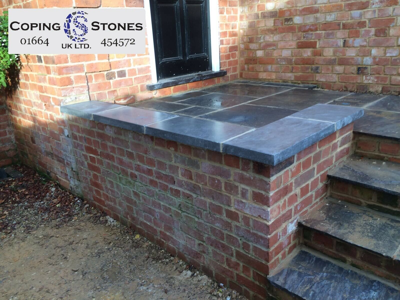 High Strength Flat Coping Stones Various Colours Available 600mm x 500mm