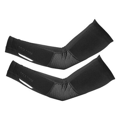 RockBros Winter Cycling Outdoor Warm Arm Covers and Leg Cover Warmers Black