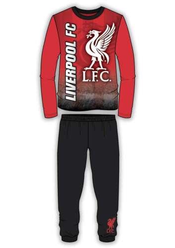 Ragazzi Bambini Football Calcio Rosso Liverpool I ROSSI YNWA Pigiama NIGHTWEAR 4-12 anni