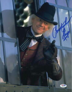 CHRISTOPHER-LLOYD-SIGNED-11X14-PHOTO-BACK-TO-THE-FUTURE-DOC-BROWN-PSA-COA-B