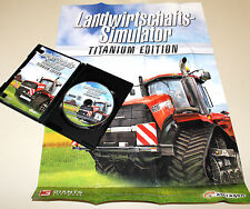LANDWITSCHAFTS SIMULATOR 2013 - TITANIUM EDITION - PC DVD MIT POSTER & HANDBUCH