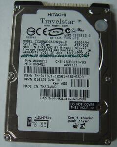"40GB 2.5/"" IDE Drive IBM IC25N040ATCS04-0 Free USA Ship Our Drives Work"