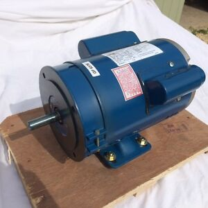 B56 5 8 shaft 16mm single phase motor 1hp for Electric motor shaft repair