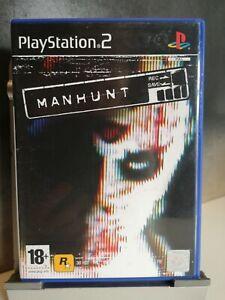 PS2 Manhunt - Playstation game CIB