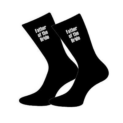Mens Wedding Black Socks Groom Best Man Usher Father of the Bride Page Boy GL