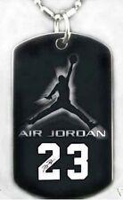 MJ MICHAEL JORDAN - Dog tag Necklace/Key chain + FREE ENGRAVING