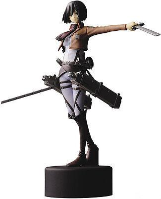"Japan 6"" PVC Figure Attack on Titan Anime Shingeki no Kyojin Mikasa Ackerman"