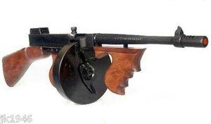 Replica Thompson Submachine Gun Chicago Typewriter Gangster